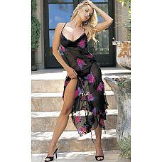 Романтичное платье с цветами