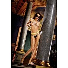 NeonBarock Колготки OS (42-46), неоновый желтый  Классически сдержанные и одновременно возбуждающие фантазию - эти замечательные колготки неонового зеленого цвета подкупают благодаря фривольному дизайну и ромбовидному ажуру, который позволит продемонстрировать ваше тело. Идеальное дополнение для любого белья и повседневных комплектов одежды. Универсальный Размер; цвет: неоновый зеленый