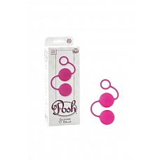 """Вагинальные  шарики Posh Silicone №O№ Balls розовые  Вагинальные шарики Posh Silicone """"O"""" Balls со смещенным центром тяжести из 100% медицинского силикона. Шарики имеют удобное кольцо для извлечения из тела и идеально подходят в качестве тренажера Кегеля."""