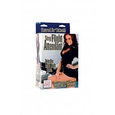 Эротическая кукла Sexy Flight Attendant Love Doll  Эротическая кукла My Naughty Nurse Doll – надувная кукла с реалистичным 3-D лицом, приятными губами длинными распущенными светлыми волосами, наряд и шапочка медсестры снимаются, 2 позиции для секса. Цвет: телесный. Материал: ПВХ. Производитель: California Exotic Novelties, США.