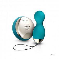 NEW! Вагинальные шарики Hula Beads (LELO), Голубой  Восхитительные шарики для дамского удовольствия с вращением и вибрацией.