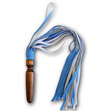 Плеть Комета  Плеть состоит из рукояти в форме анальной пробки (что позволяет разнообразить способы её применения), и 21 гладких хвостов изготовленных из искусственной кожи.