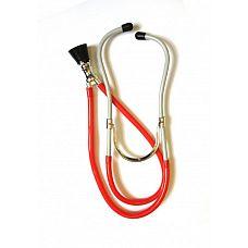 Стетоскоп медицинский красный 02879OS  Красный стетоскоп.