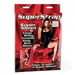 Покрывало красного цвета Super Strap Super Sheet