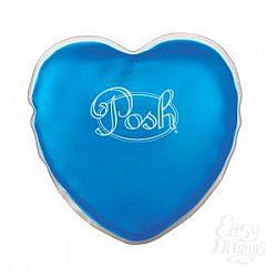 Теплый массажер голубого цвета Posh Warm Heart Massagers