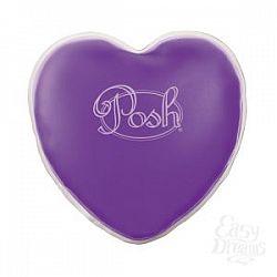 Теплый массажер фиолетового цвета Posh Warm Heart