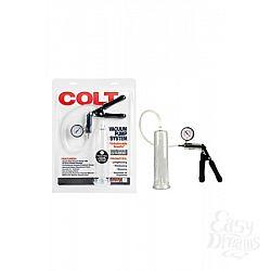 California Exotic Novelties Вакуумная помпа с манометром COLT Vacuum Pump System черная
