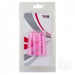 Пупырчатые насадки на пальцы розового цвета