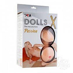 Надувная секс-кукла с реалистичными вставками