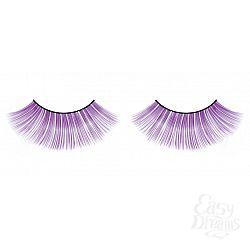 Длинные фиолетовые ресницы Deluxe