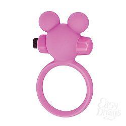 Toyz4lovers Эрекционное виброкольцо Teddy розовое T4L-801785