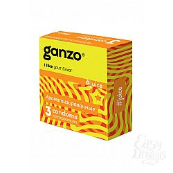ФармЛайн Презервативы Ganzo Juice № 3