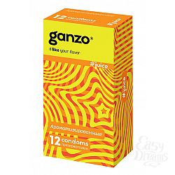 ФармЛайн Презервативы Ganzo Juice № 12