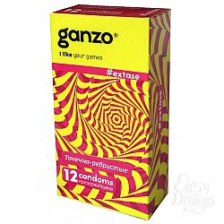 ФармЛайн Презервативы Ganzo Extase № 12
