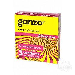 ФармЛайн Презервативы Ganzo Long Love № 3