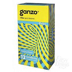 ФармЛайн Презервативы Ganzo Ribs № 12