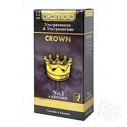 ФармЛайн Презервативы Okamoto Crown № 12