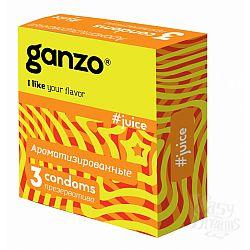 Ganzo Презервативы GANZO Juice No3