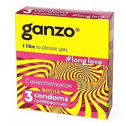 Ganzo Презервативы GANZO Long Love No3