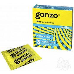 Ganzo Презервативы GANZO ribs No3