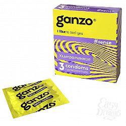 Ganzo Презервативы GANZO Sense No3