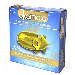 OKAMOTO Презервативы OKAMOTO Jumbo No3