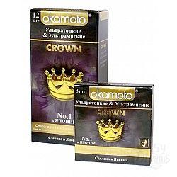 OKAMOTO Презервативы OKAMOTO Crown No3