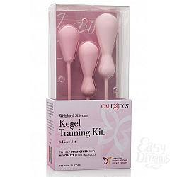 California Exotic Novelties Набор вагинальных кегель из силикона из 3 штук разного размера INSPIRE WGHT SIL KEGL TRAIN KT