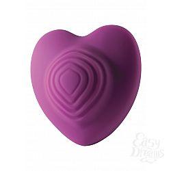 Rocks-Off Стильный вибромассажер Heart Throp - Rocks-Off, Фиолетовый