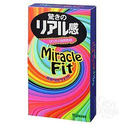 Презервативы Sagami Xtreme Miracle Fit - 10 шт.