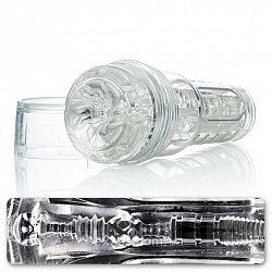 Fleshlight Реалистичный мастурбатор Go Torque Ice Fleshlight, 20 см, Прозрачный
