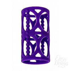 Фиолетовая насадка-сетка на член