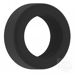 Чёрное эрекционное кольцо Cockring No.39