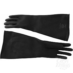 Резиновые перчатки Thick Industrial Rubber Gloves 9