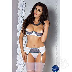 Соблазнительный комплект Eleni с открытой грудью