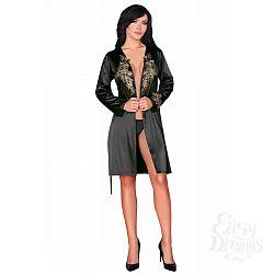 LivCo Corsetti Fashion Пеньюар Natasha от LivCo Corsetti Fashion, S/M, Черный