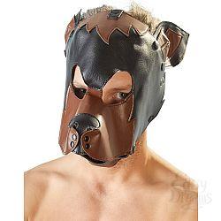 Маска на голову в виде собаки