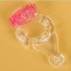 Прозрачное виброкольцо (ToyFa 818038-1)
