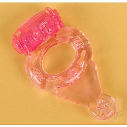Розовое виброкольцо (ToyFa 818038-3)