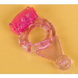Фиолетовое виброкольцо (ToyFa 818038-4)