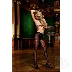Baci Lingerie White Collection Devil Колготки OS (42-46), черный