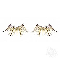 Baci Lingerie Ресницы коричнево-золотые  перья