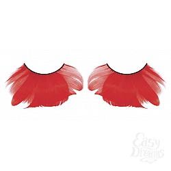 Baci Lingerie Ресницы красные  перья
