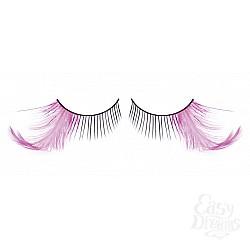 Baci Lingerie Ресницы чёрные-фиолетовые  перья