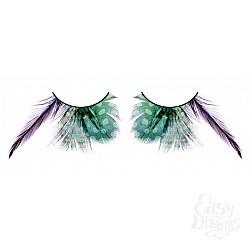 Baci Lingerie Ресницы зелёные  перья