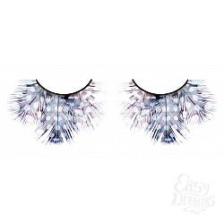 Baci Lingerie Ресницы светлые сине-фиолетовые  перья
