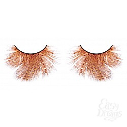 Baci Lingerie Ресницы оранжево-красные  перья