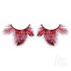 Baci Lingerie Ресницы тёмно-красные  перья