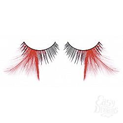 Baci Lingerie Ресницы чёрные-красные  перья