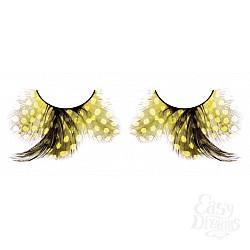 Baci Lingerie Ресницы жёлтые  перья